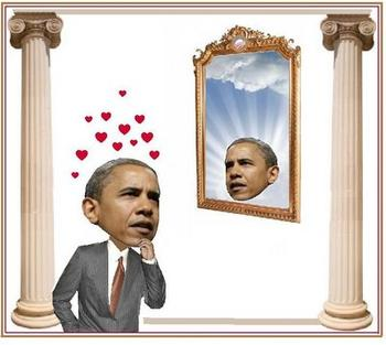 Obama the narcissist...