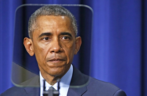 OBAMA SPEAKS AT THE GLOBAL HEALTH SECURITY AGENDA SUMMIT IN WASHINGTON